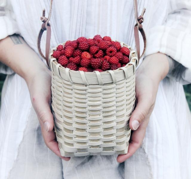 Black Ash Berry Basket. Credit: Penny Hewitt